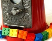 ON SALE Rainbow Toy Brick Bracelet