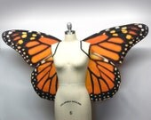 Oversized Monarch Butterfly Costume Wings - Made to Order - Butterfly Halloween Costume