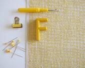 Formica - screen printed fabric - metallic colours