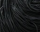 4 Meters Black Round Elastic Cord - 1mm (S-430)