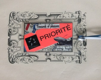 Custom luggage tag / Frequent Flyer / Priority passenger / Mileage Runner / Bookmark / Keyring