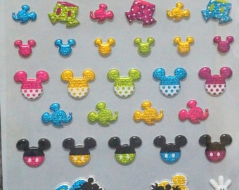Disney stickers Mickey mouse