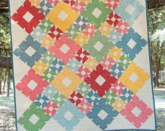 PATTERN BISCUITS 2 sizes Lap or Crib QUILT It's Sew Emma