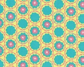 Radiant Girl Fabric by Lecien - 49182-50 Pink/Teal - 1/2 or 1 yard