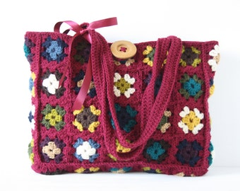 Crochet shoulderbag Philaine