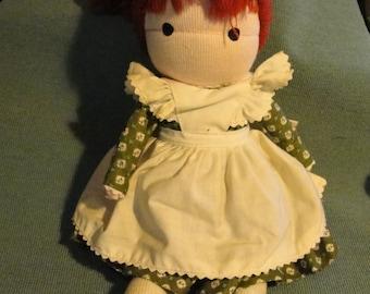 Vintage 1970s cloth doll Friend by Joan Anglund Walsh All original