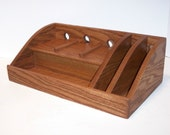 Custom Listing for Susan --  Oak Charging Station