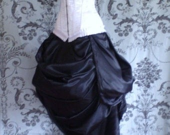 Clear Out Sale Antoinette Trained Bustle Skirt-To Fit Natural 20-50 Inch Waist