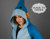 Mudkip Pokemon Costume Hoodie - Made to Order