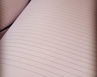 EXTRA: Lined pages for our 8.5 x 11 inch Custom Blank Journals...but NOT for the Exquisite Oversized Journals
