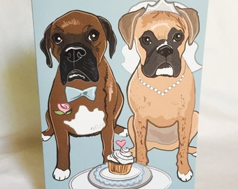 Wedding Boxers - Greeting Card