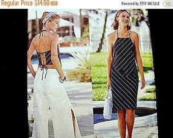 Sewing Pattern SALE Womens Skirt Wide Leg Pants Halter Top Pattern Misses 12 14 16 UNCUT Butterick Pattern Designer