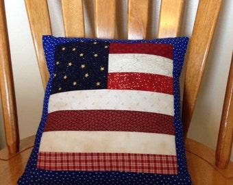 Patriotic Decorative Pillow