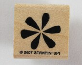 Stampin Up! - Flower Rubber Stamp #RS092