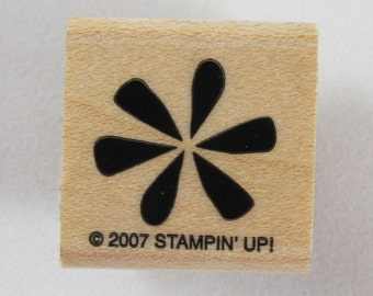 Flower Stampin Up! Rubber Stamp #RS092