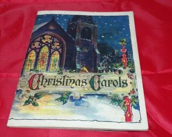 Beautiful Christmas Carols booklet