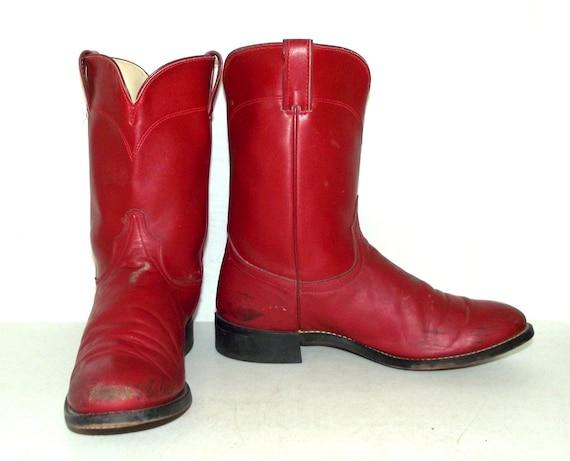 roper laredo cowboy boots wide width mens size 9 5 ee