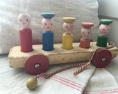 Vintage learning toy