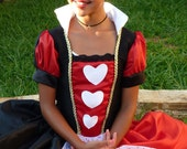 Queen of Hearts Inspired Costume for Halloween