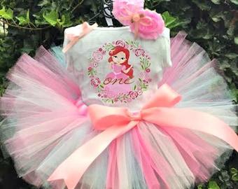 Ariel Tutu Set - Ariel Birthday Tutu - Ariel Tutu - Ariel Tutu Skirt - Ariel Dress