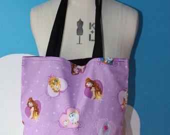 disney beauty and the beast hearts - princess tote bag