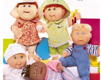 CABBAGE PATCH KIDS Sewing Pattern ~ Baby Doll Dolls Clothes 3932