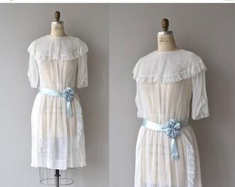 25% OFF.... Petit Trésor dress | vintage 1920s dress | cotton voile 20s dress