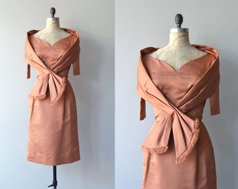 Luca Della dress | vintage 1950s dress | 50s wiggle dress
