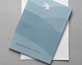 Sympathy Dove, Sympathy Card, Greeting Card, Thinking of you