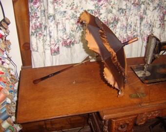 Recovering Service for Antique Parasol Frames