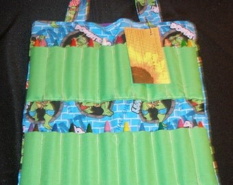 Teenage Mutant Ninja Turtles Themed Crayon Activity Bag