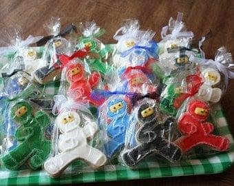 Ninja Cookies - 12 Cookies