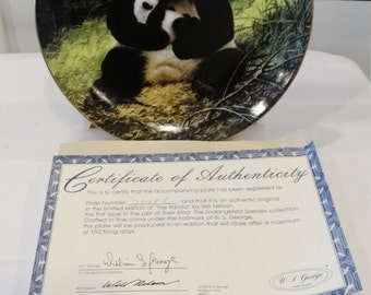 The Panda, Last of Their Kind,The Endangered Species 1988