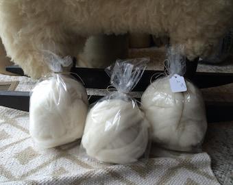 1 oz Corridale Wool Roving