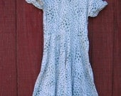 Georgie - vintage 50's atomic print dress