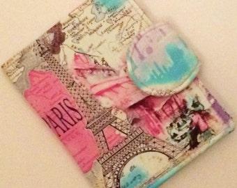 Kindle Paperwhite Cover, Nook Glowlight Case, Kindle Fire Case, all sizes, Paris Eiffel Tower eReader Case