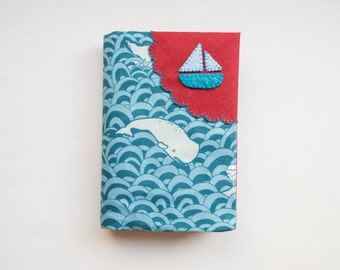 Whale of a Time - Fabric Passport Cover