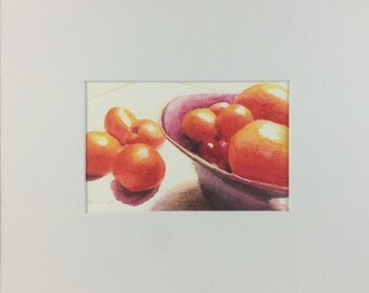 Bowl of Tomatoes - Print