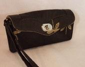 Necessary Clutch Wallet-Dragonfly Wallet-Smartphone Wallet-Accordian Style Clutch Wallet-Multi-Purpose Wallet