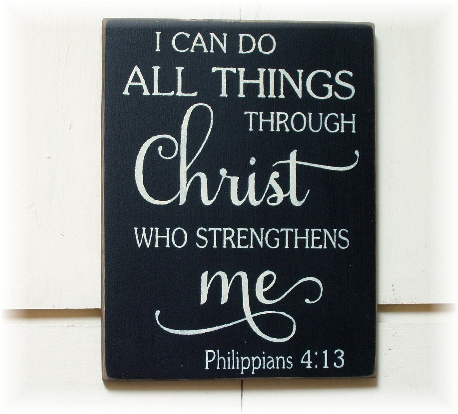 i can do all things through I can do all things through christ which strengtheneth me new life version i can do all things because christ gives me the strength new revised standard.