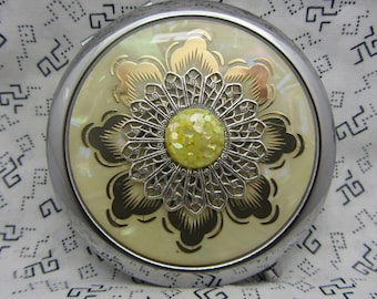 Compact Mirror Angela Bridesmaid Gift Comes With Protective Pouch