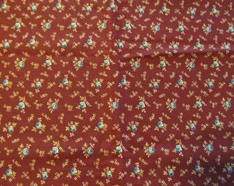 Free Shipping! Vintage VIP Fabrics USA. Cranston Print Works. 1/2 Yard 16061