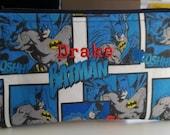 SUPER HEROES BATMAN Pencil Case/Zipper Pouch/Personalized Case/Children Gift/Teen Gift/School Supplies/Gadget Case