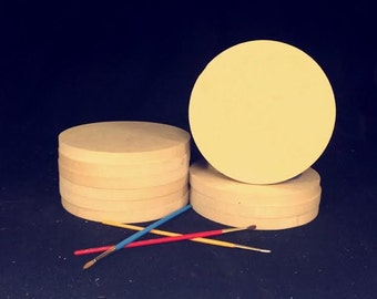 CLEARANCE! Bundle of 5 Circles for just 1.00 each! 6''x 1/2'' thick with NO Keyholes. Inventory must go!