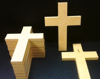 150 Unpainted 6'' x 9'' Crosses, Great for VBS, Free Shipping VBS150-1