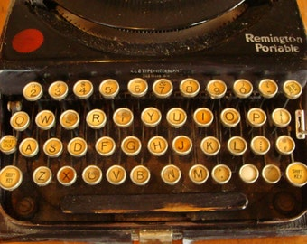 Gorgeous Antique Remington Typewriter