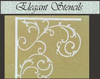 Raised Plaster Stencil Wrought Iron Wall Stencil, Painting Stencil, Wall Decor
