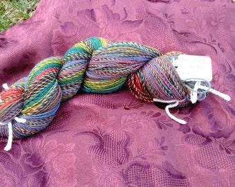 Handspun Rainbow Yarn