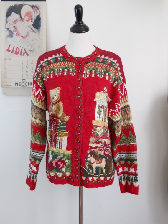 Vintage Holiday Sweaters 39
