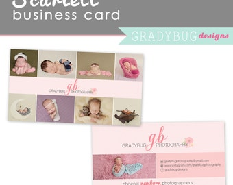 Business Card, Photography Business Card Template, photo business card, custom business card design, Instant Download